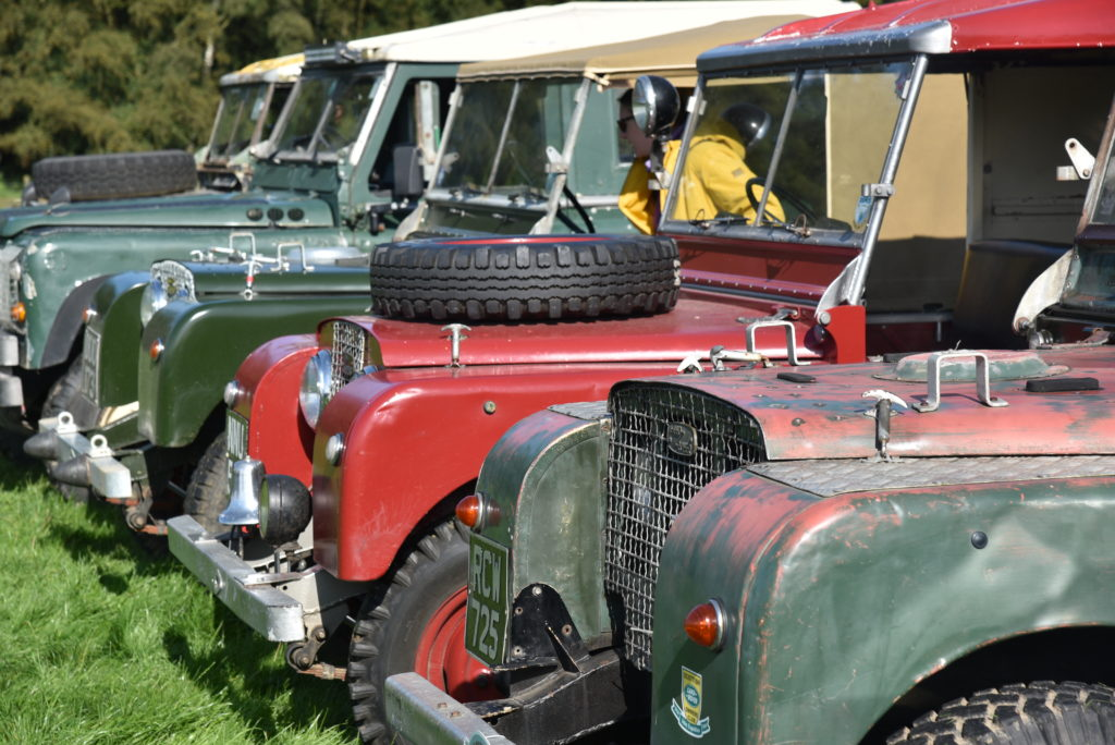 Land Rover Gathering